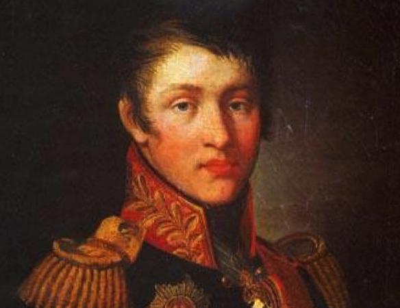 Александр Суворов в молодости