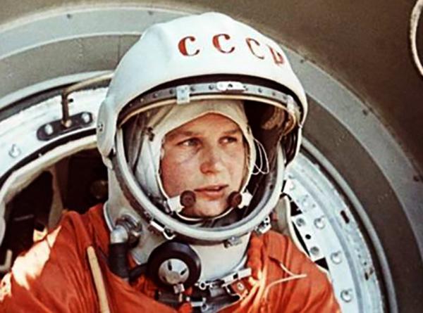Космонавт Валентина Терешкова