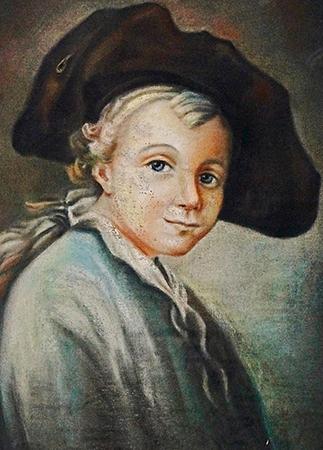 Александр Суворов в детстве
