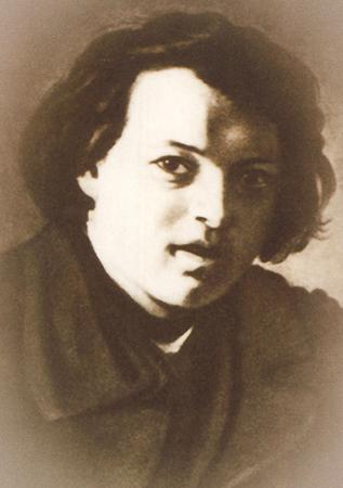 Иван Шишкин в детстве