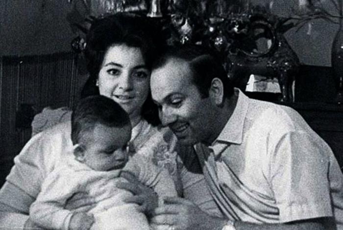 Филипп с родителями