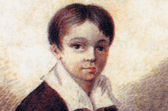 Иван Гончаров в детстве