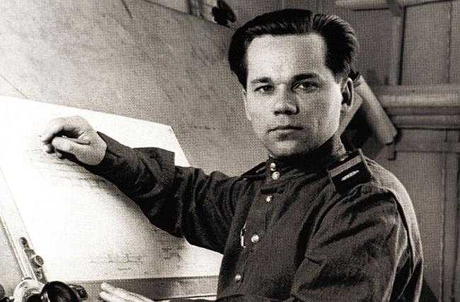 Изобретатель Михаил Калашников