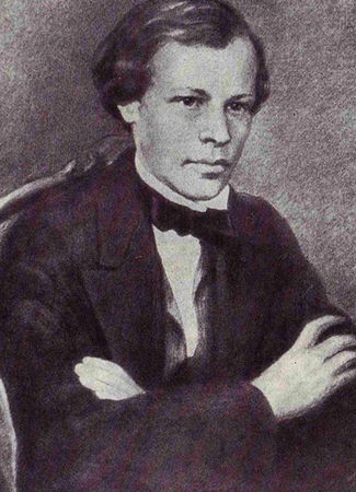 Дмитрий Менделеев в молодости
