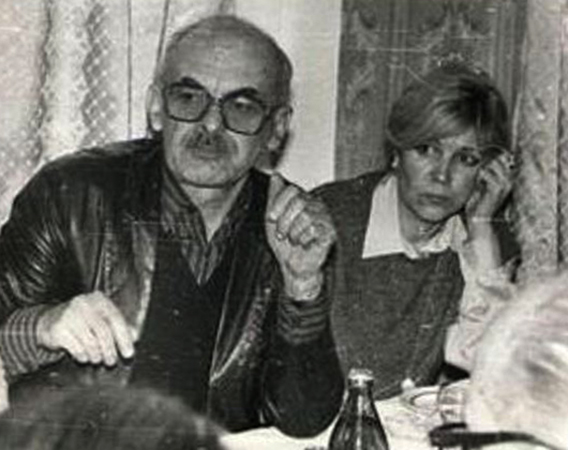 С Ольгой Арцимович