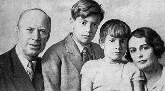Сергей, Каролина и дети