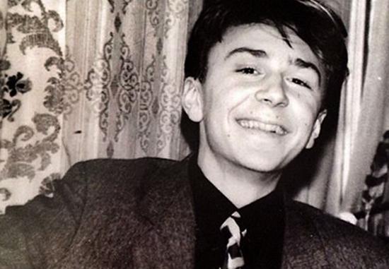 Сергей в молодости