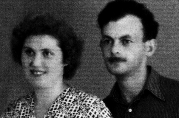 С первой женой Галиной