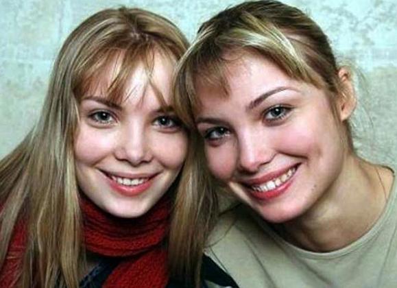 С сестрой Ольгой