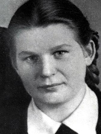 Юная Валентина Терешкова