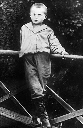 Владимир в детстве