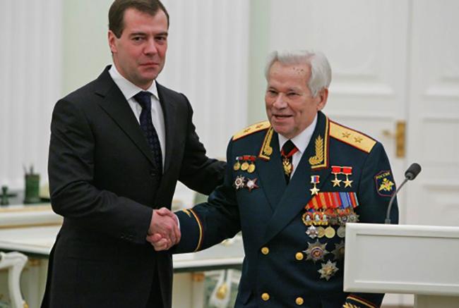 Вручение звезды Героя России