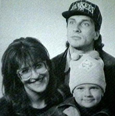 С Алисой и сыном