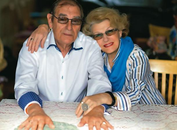 С мужем Анатолием