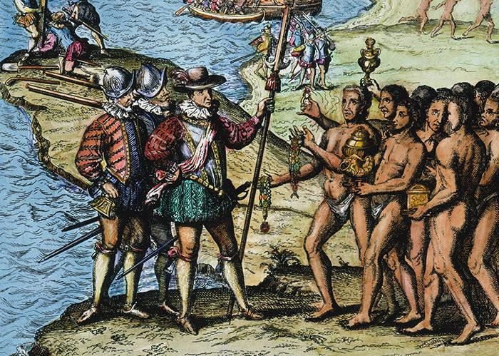 Прибытие Колумба