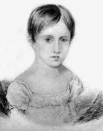 Наталья Гончарова в детстве