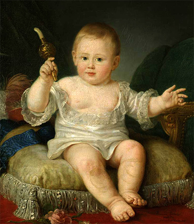 Александр I в детстве