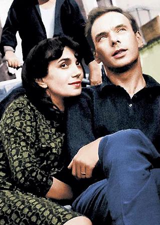 Со второй женой Гитаной