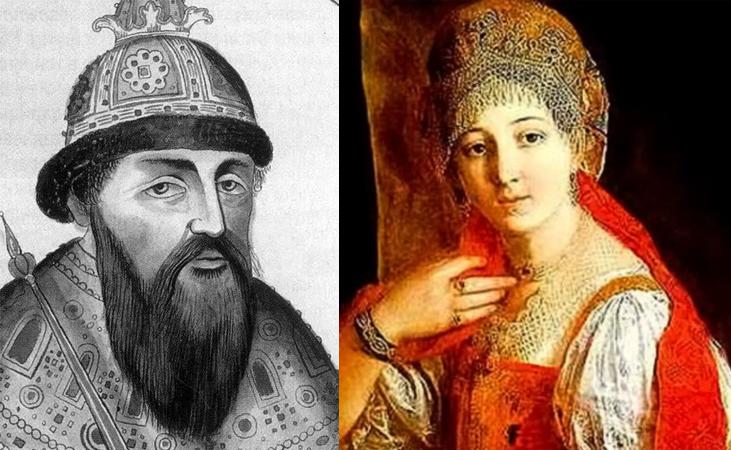 Василий III и Елена Глинская — родители Ивана Грозного
