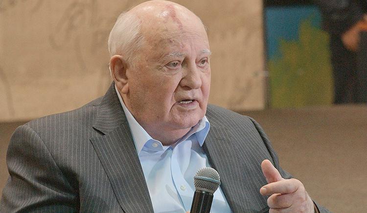 Михаил Горбачев в наши дни
