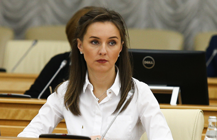 Ирина Каклюгина на рабочем месте