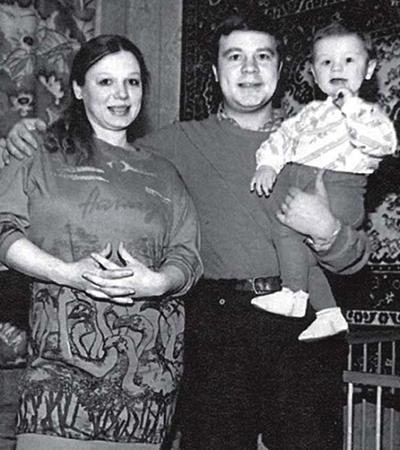 С Ларисой и Сыном