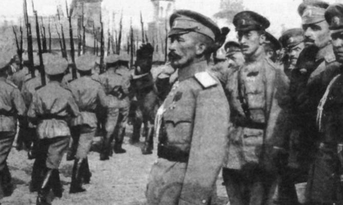 Лавр Корнилов во время Первой мировой войны