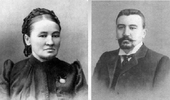 Любовь Алексеевна и Иван Иванович — родители Александра