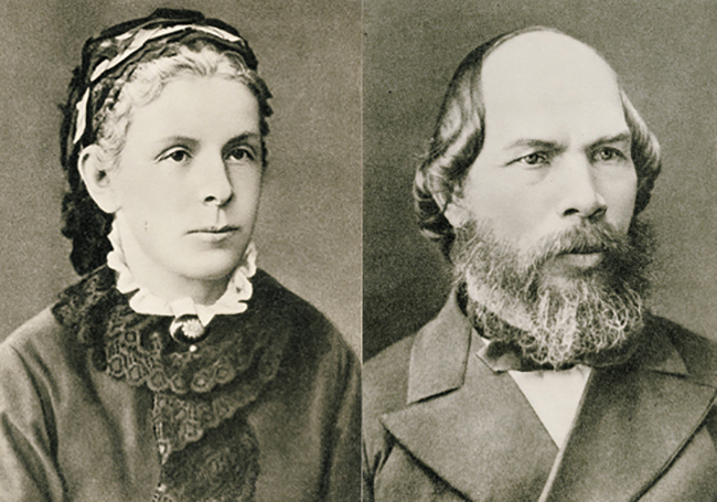 Мария Александровна и Илья Николаевич — родители Ленина