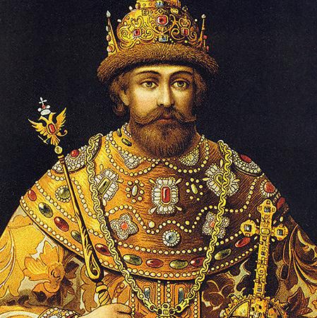Михаил Романов на престоле