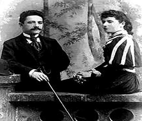 Мойше и Роза — родители Джорджа