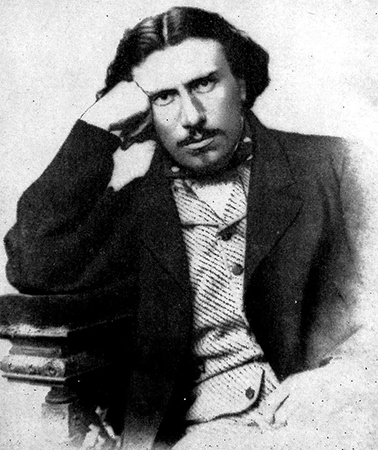 Молодой Николай Лесков