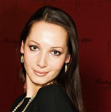 Дарья Златопольская в молодые годы