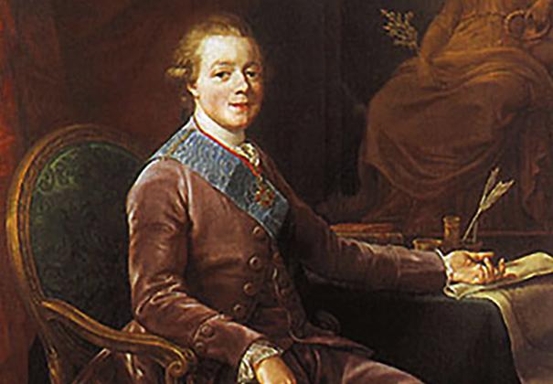 Молодой Павел I