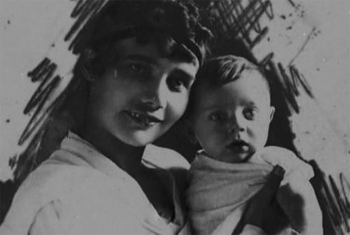 Надежда Гузовская с сыном