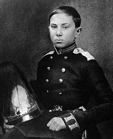 Николай в детстве