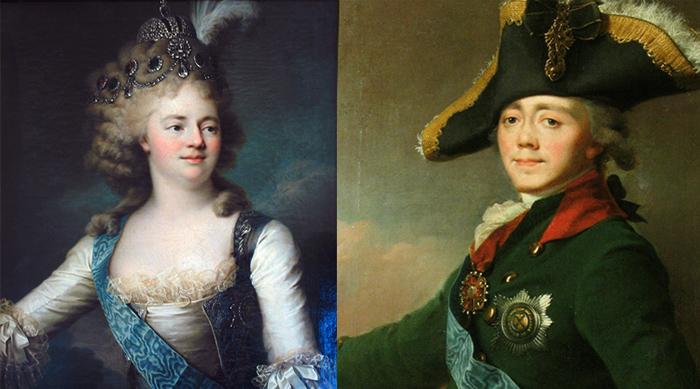 Мария Федоровна и Павел I — родители Александра I