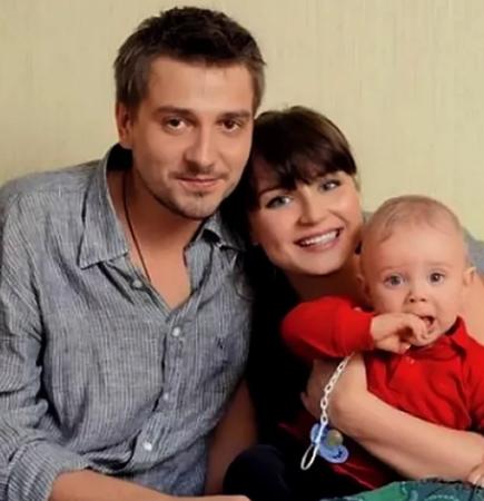 С Петром Кисловым и сыном Андреем