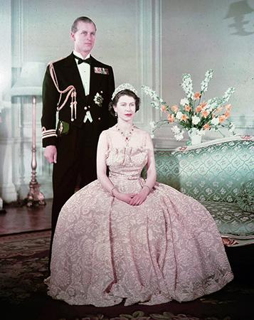 Елизавета 2 и Филипп