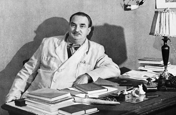 Писатель Виталий Бианки