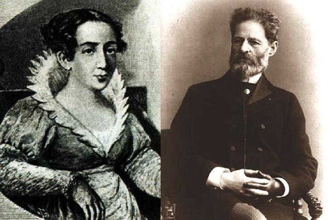 Евгения Андреевна и Иван Николаевич — родители Михаила