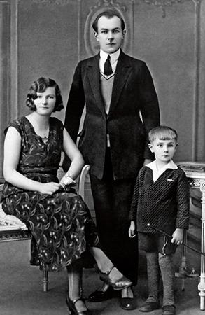Родители и брат
