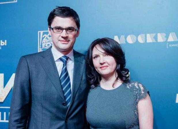 С женой Дарьей