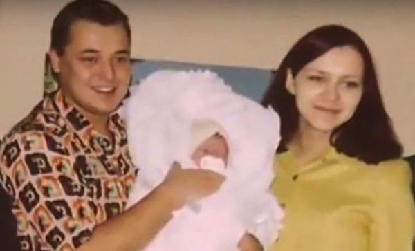 Сергей, Елена и дочь