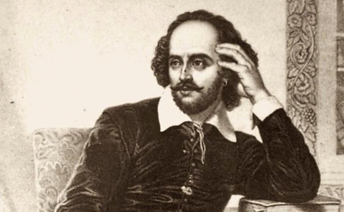 Шекспир за работой