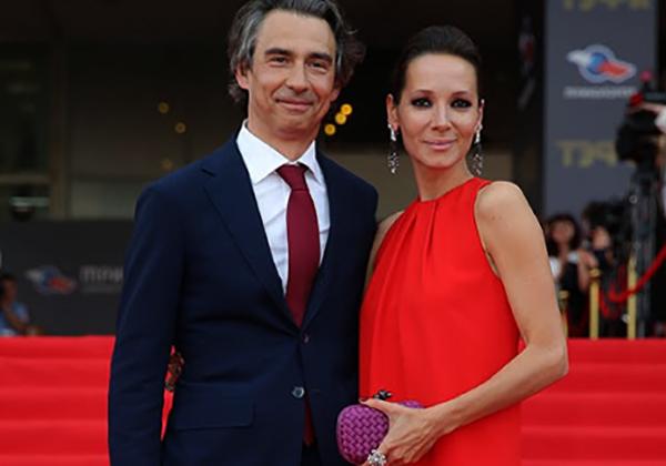 С мужем Антоном