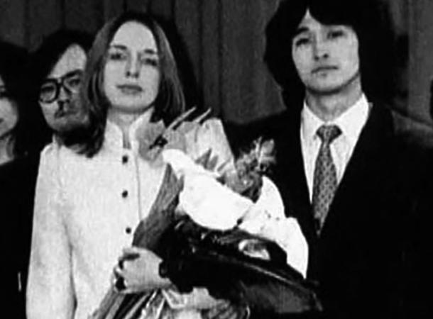 С первой женой Марьяной
