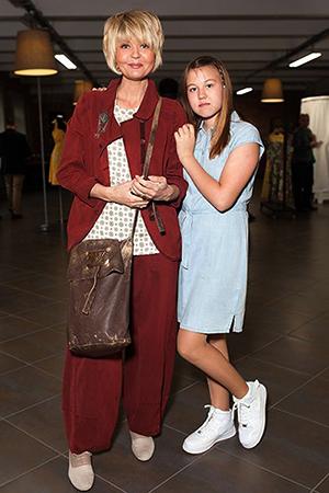 С дочерью Таисией