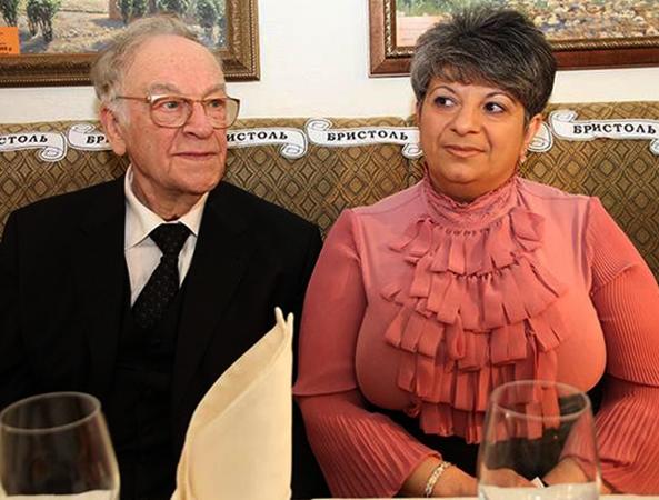 С женой Татьяной