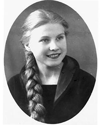 Мария в юные годы